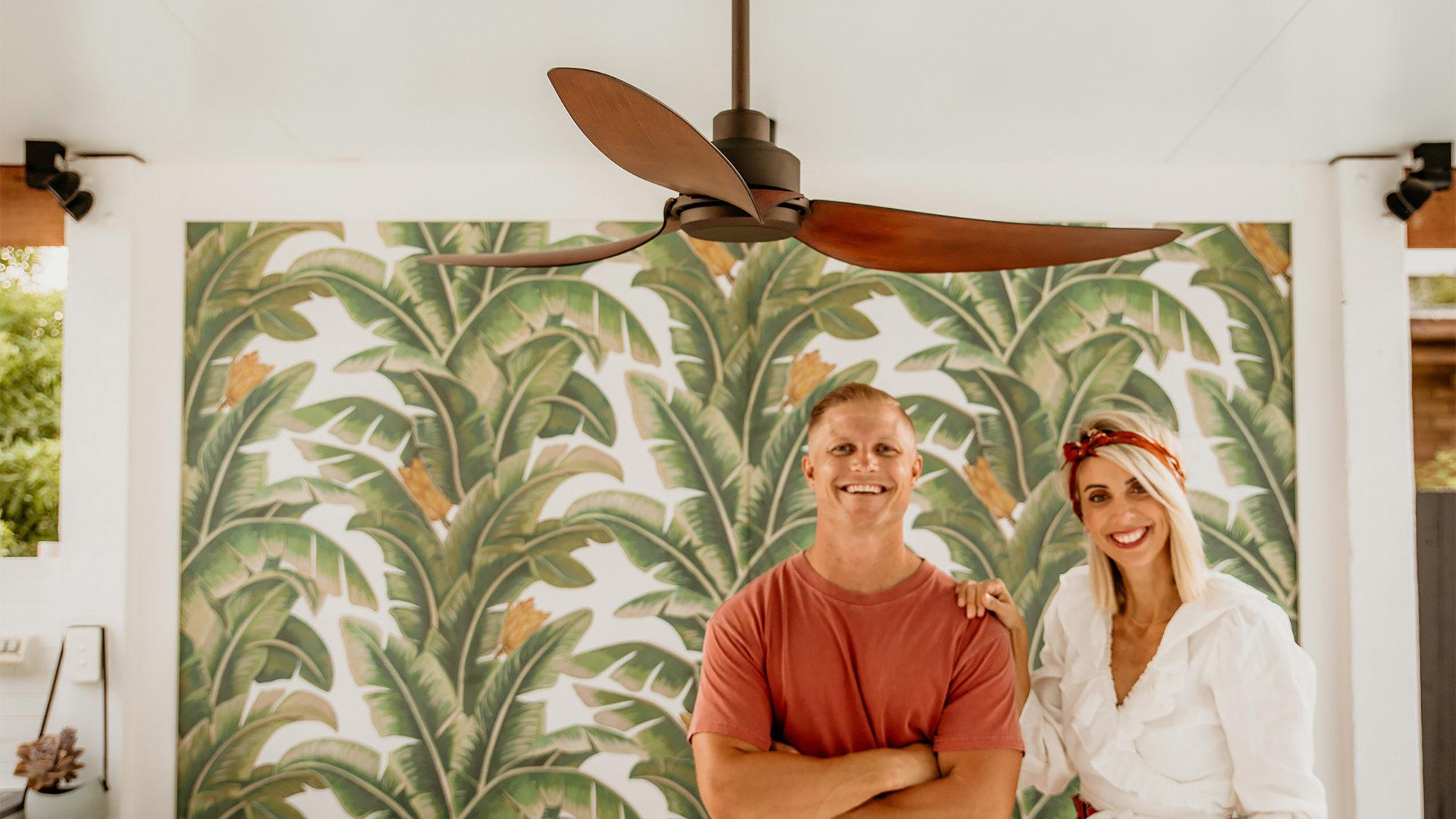 """56"""" Trinity DC ceiling fan in Oil-rubbed Bronze"""