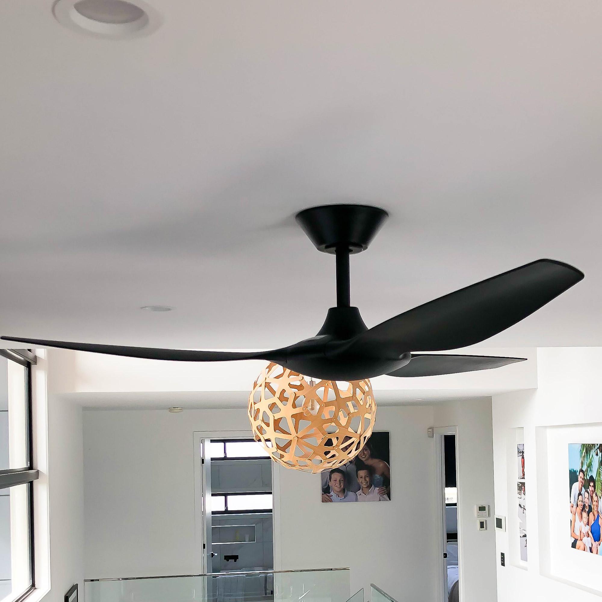 Delta DC Ceiling Fan Black