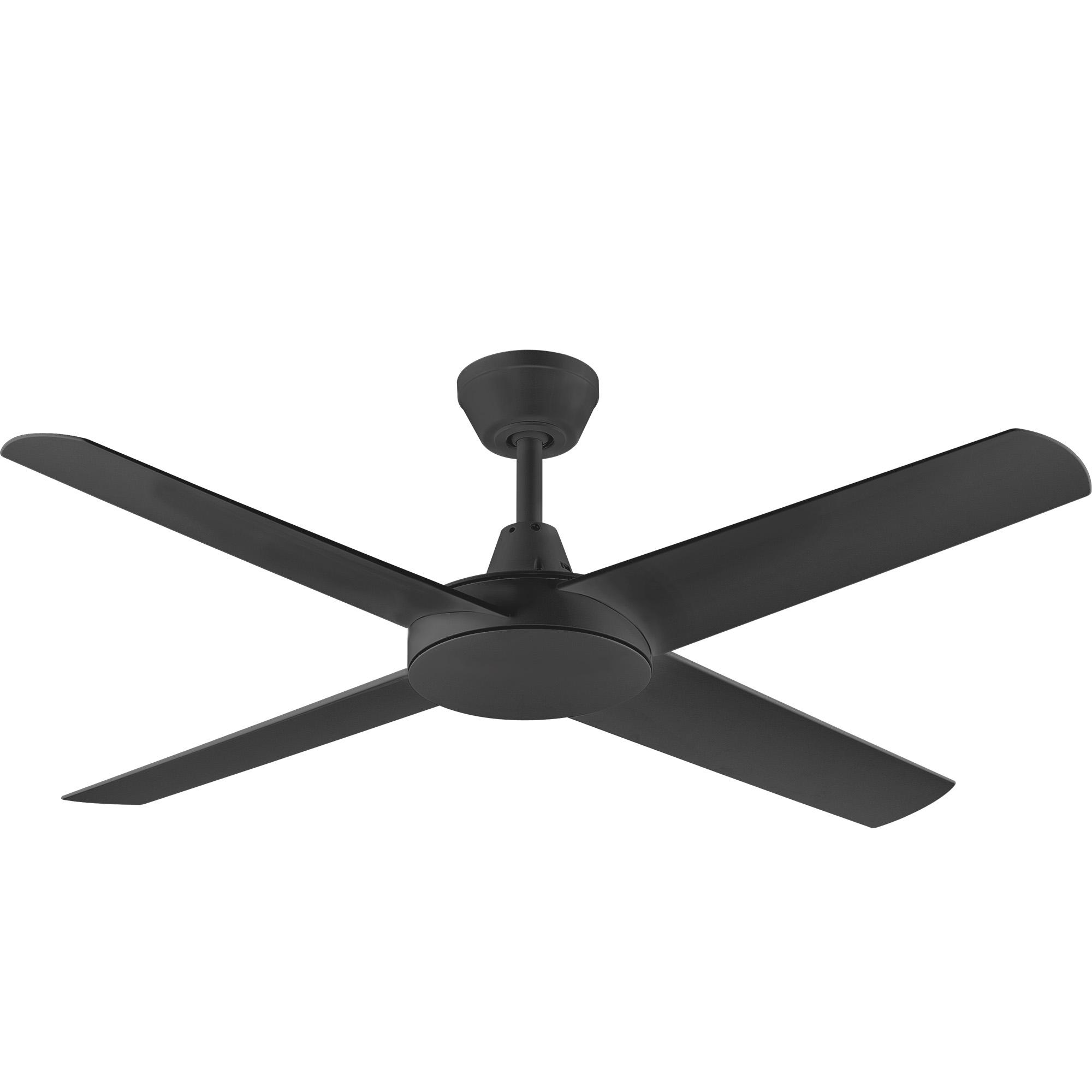 """52"""" Aspire Ceiling Fan in Black"""