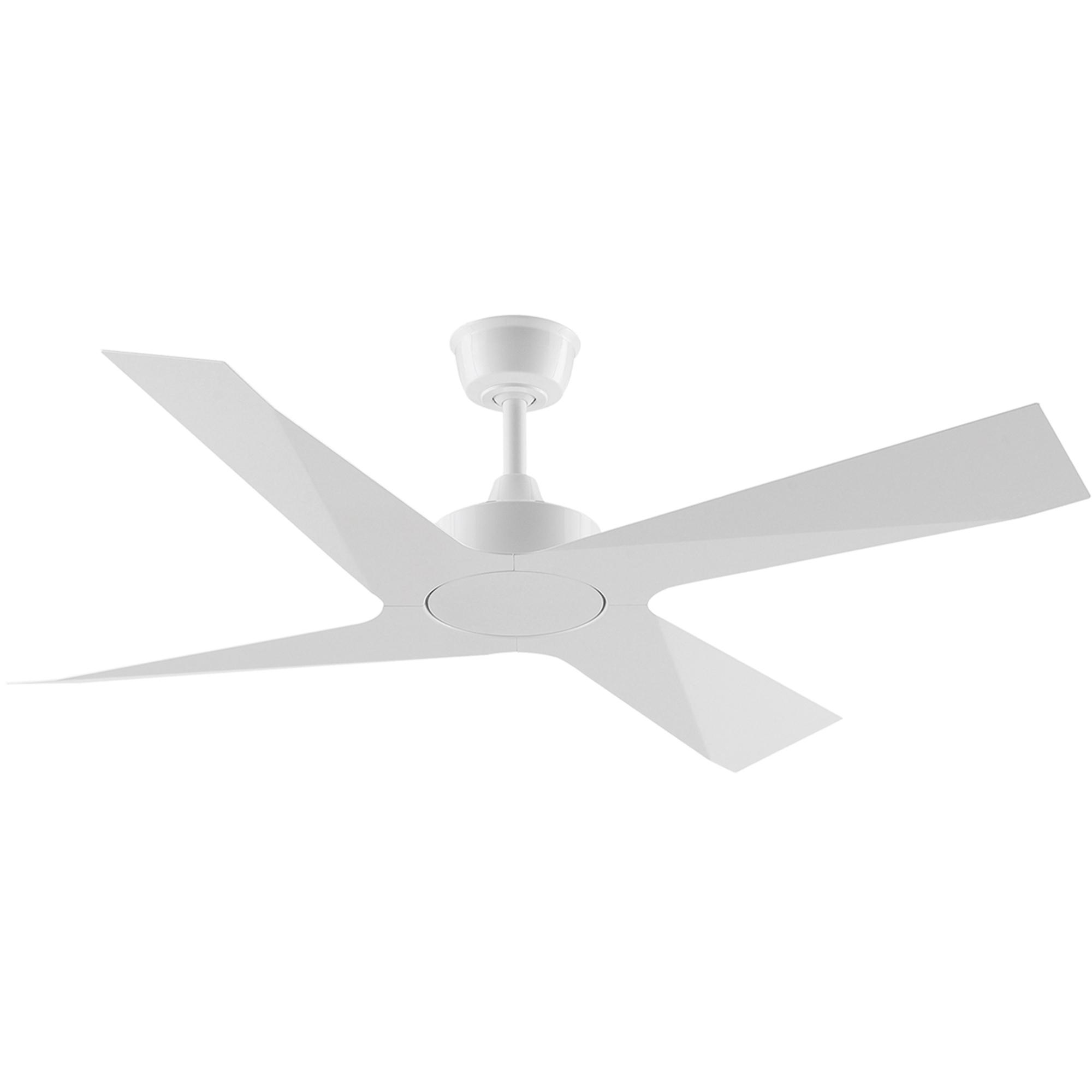 """52"""" Modn-4 Ceiling Fan in White"""