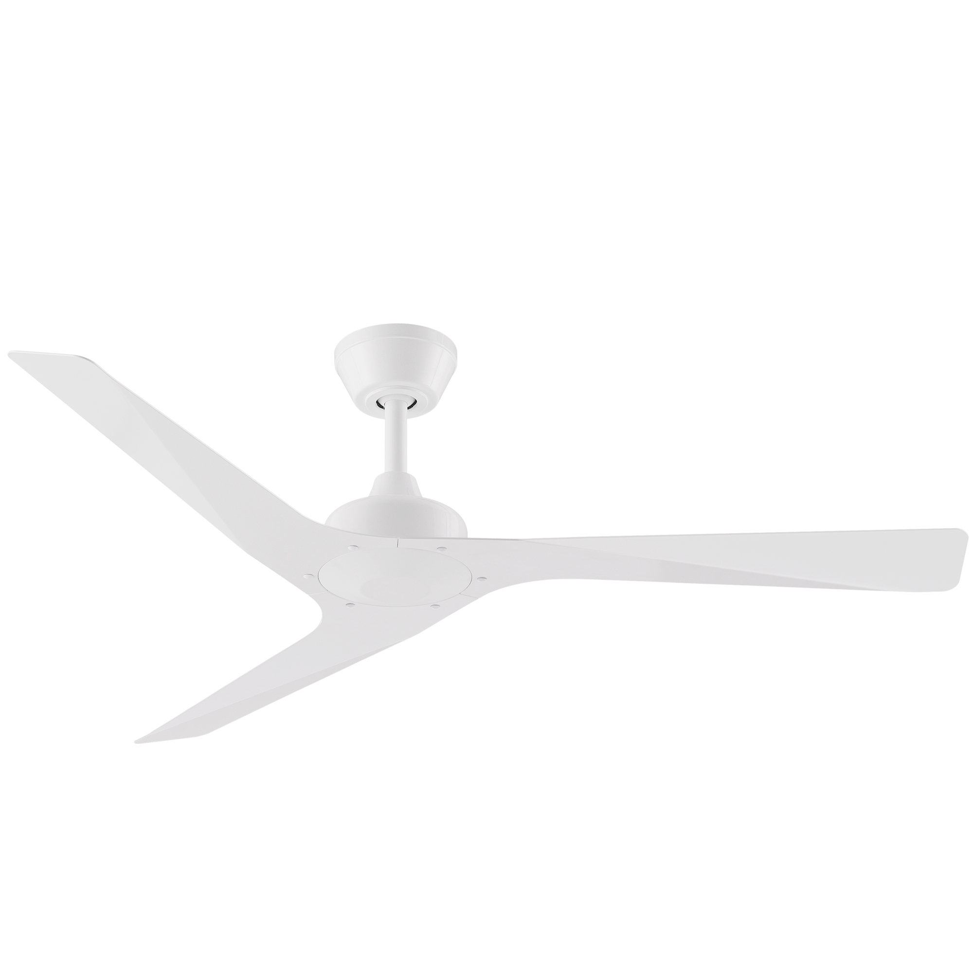 """52"""" Modn-3 Ceiling Fan in White"""