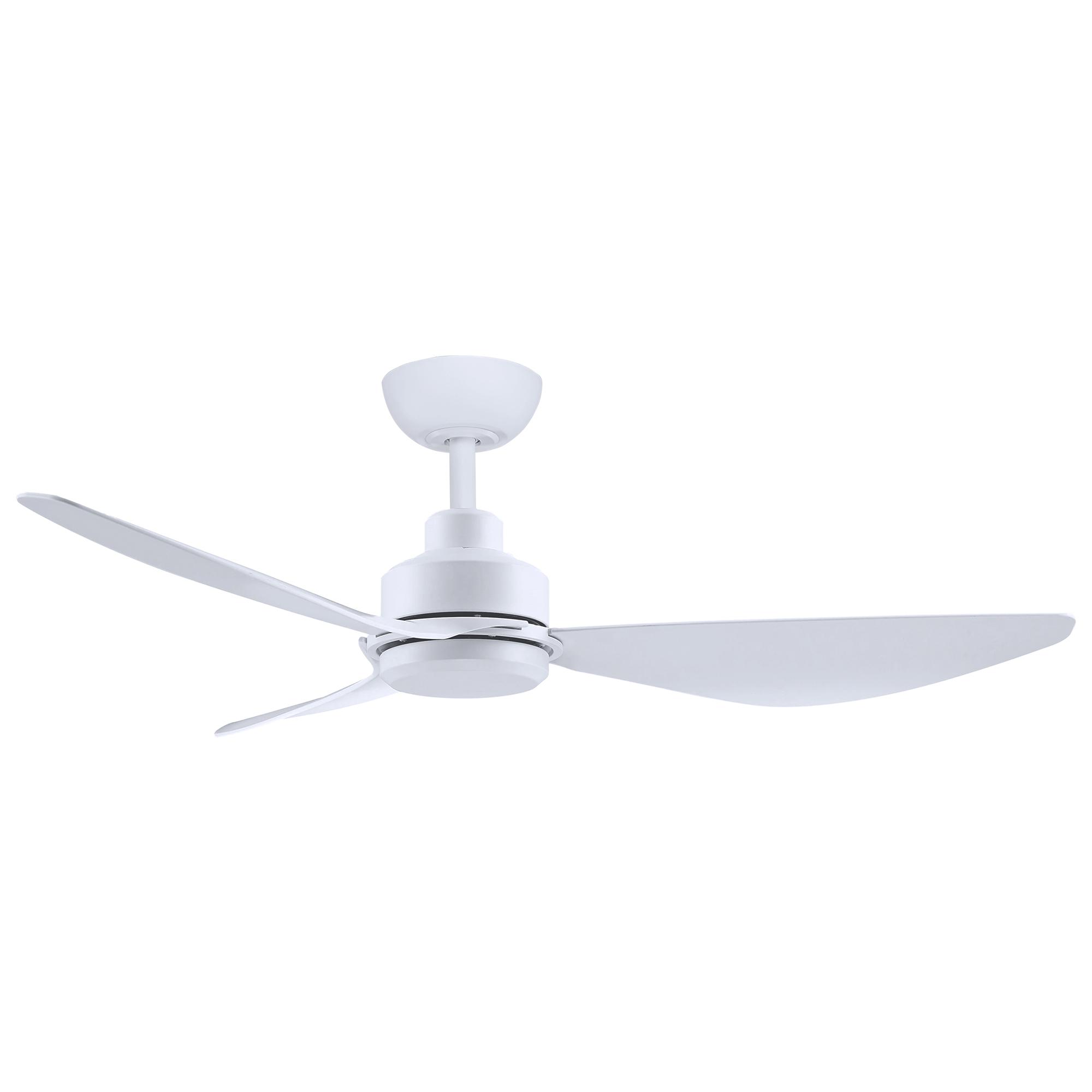 """48"""" Trinity DC Ceiling Fan in Matte White"""
