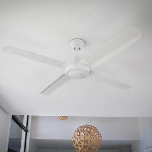 Velocity Ceiling Fan White
