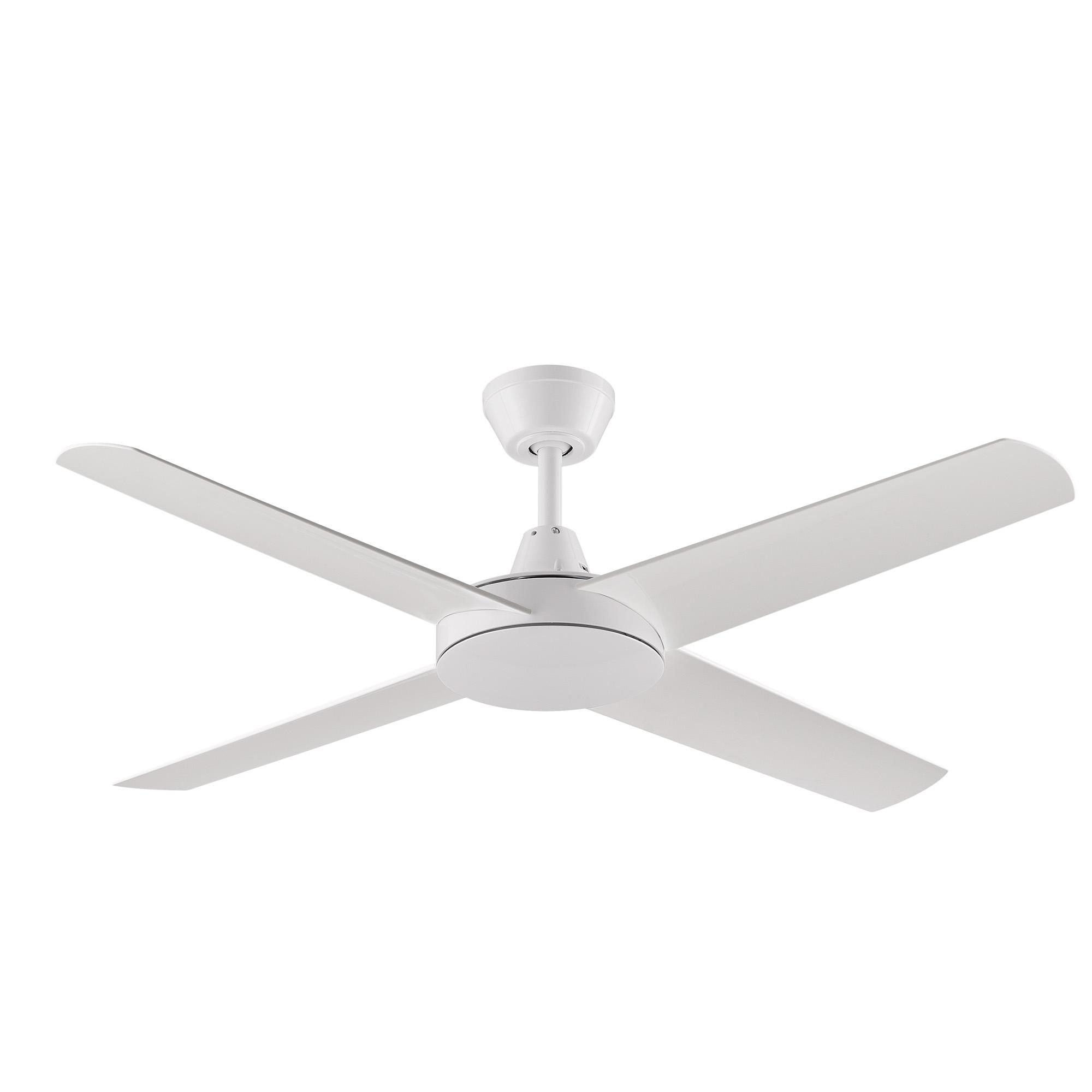 """52"""" Aspire Ceiling Fan in White"""