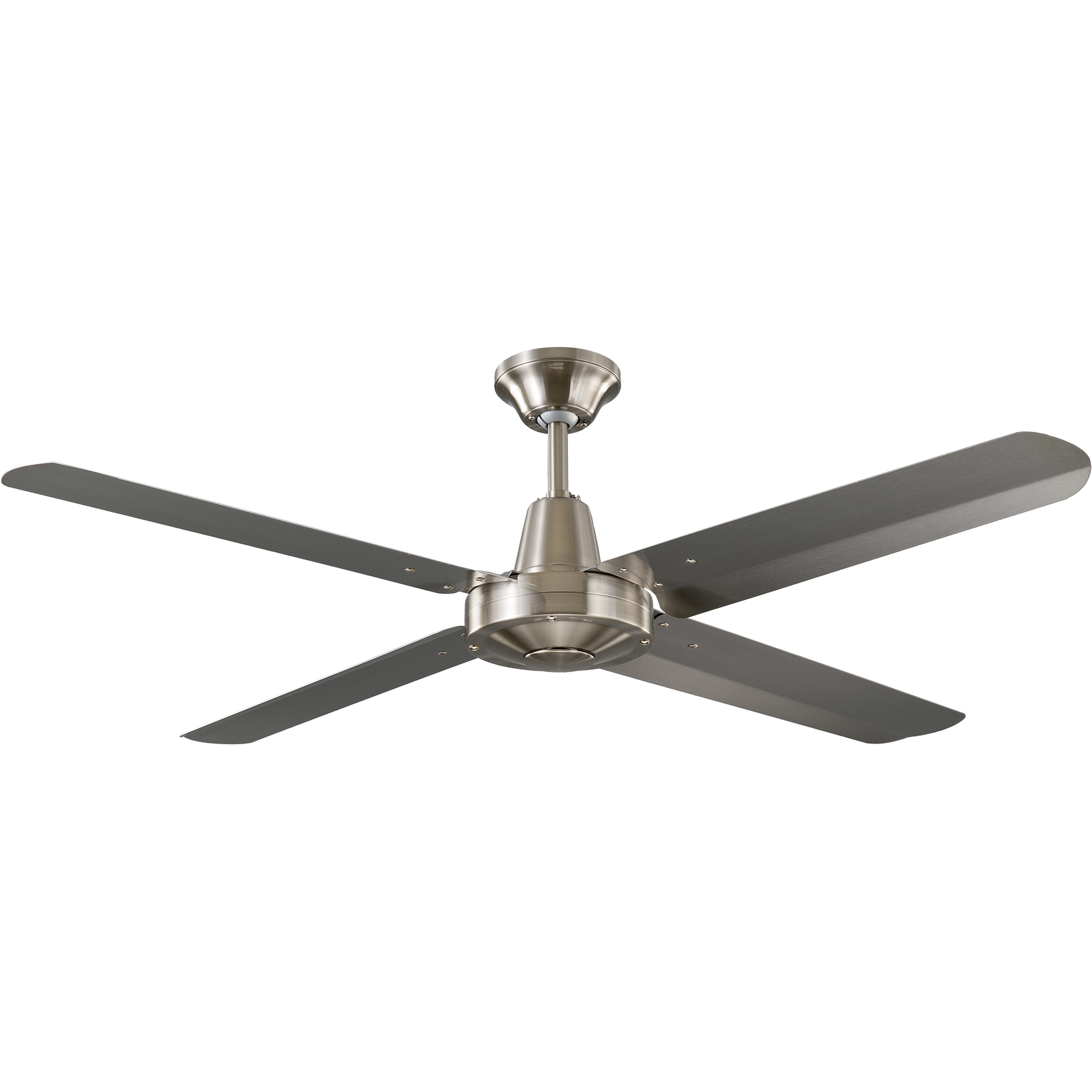 """48"""" Velocity Ceiling Fan in Brushed Chrome"""