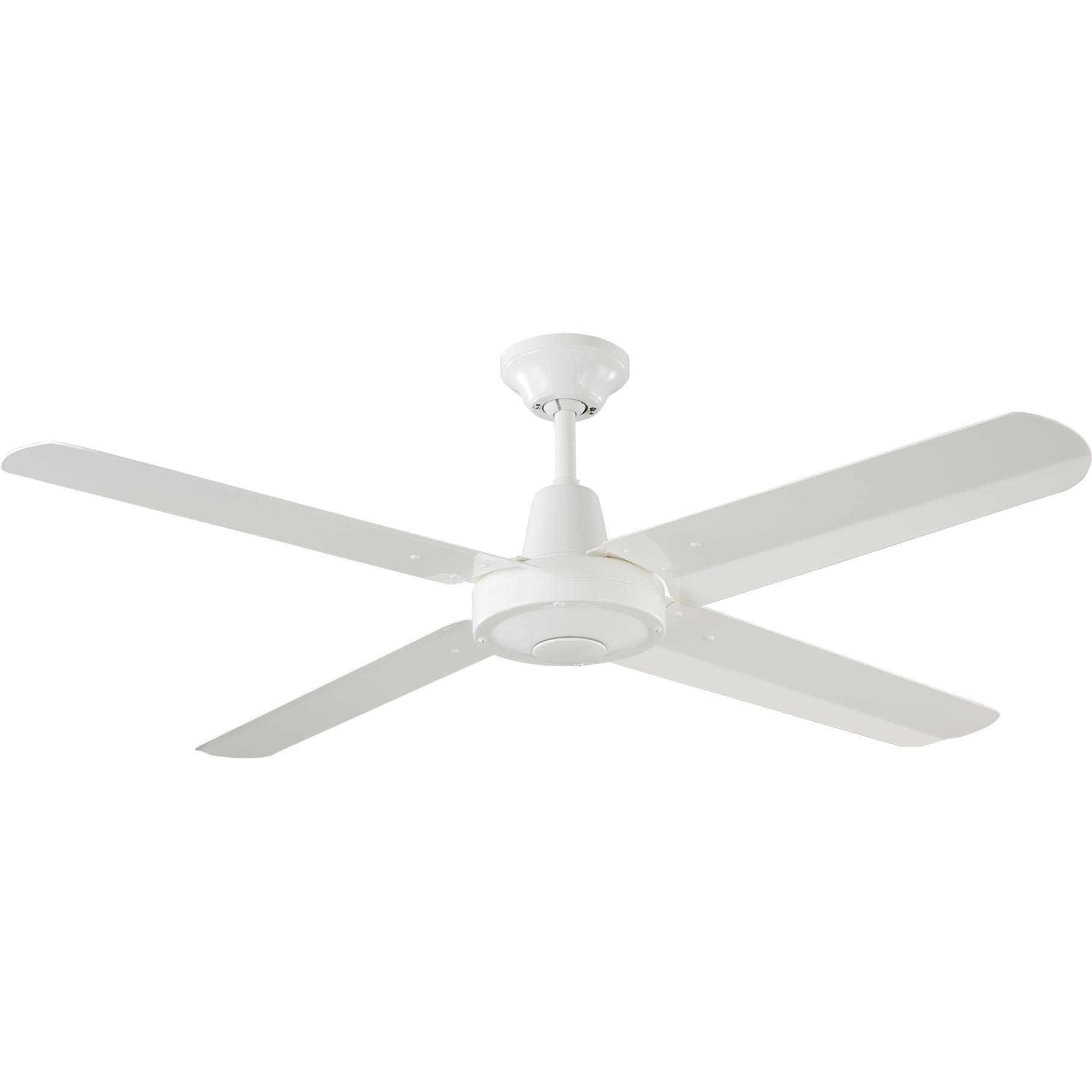 """48"""" Velocity Ceiling Fan in White"""