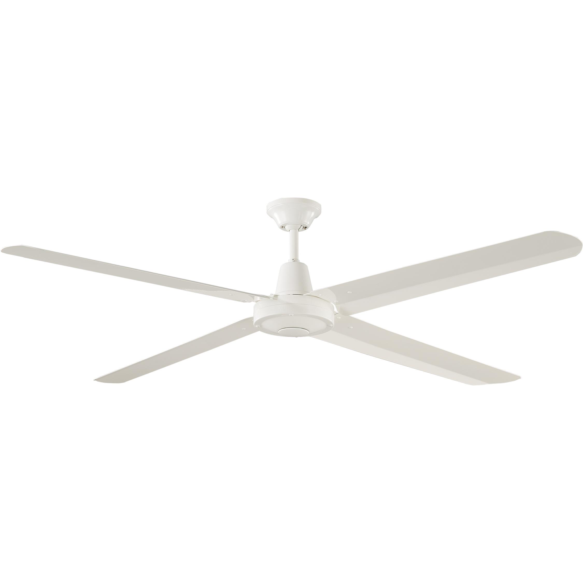 """56"""" Velocity Ceiling Fan in White"""