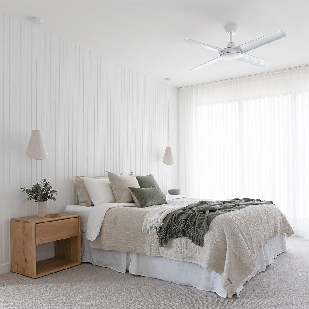 Aspire Ceiling Fan White 3 Square LowRes