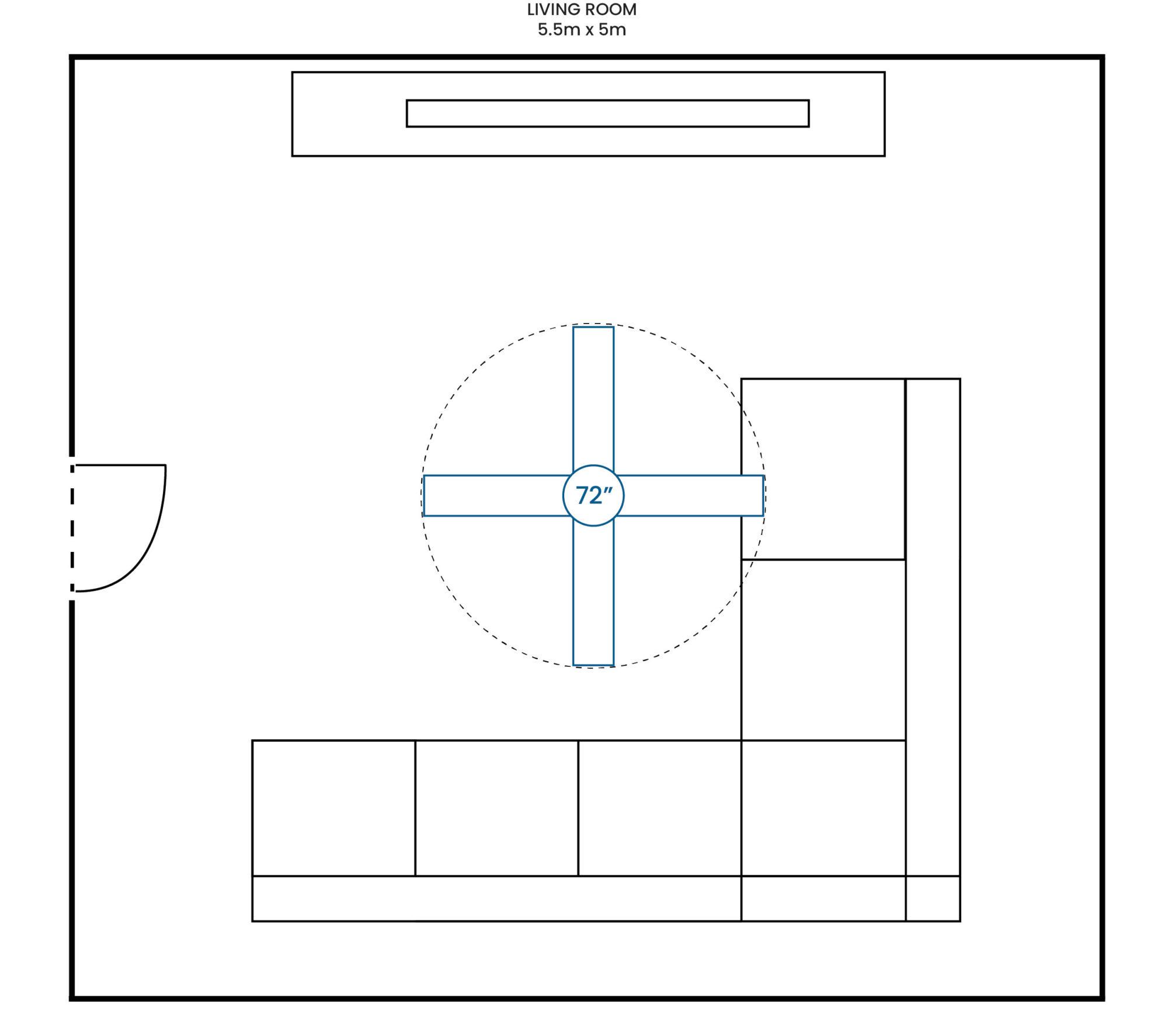 Living Room 550 500 72F