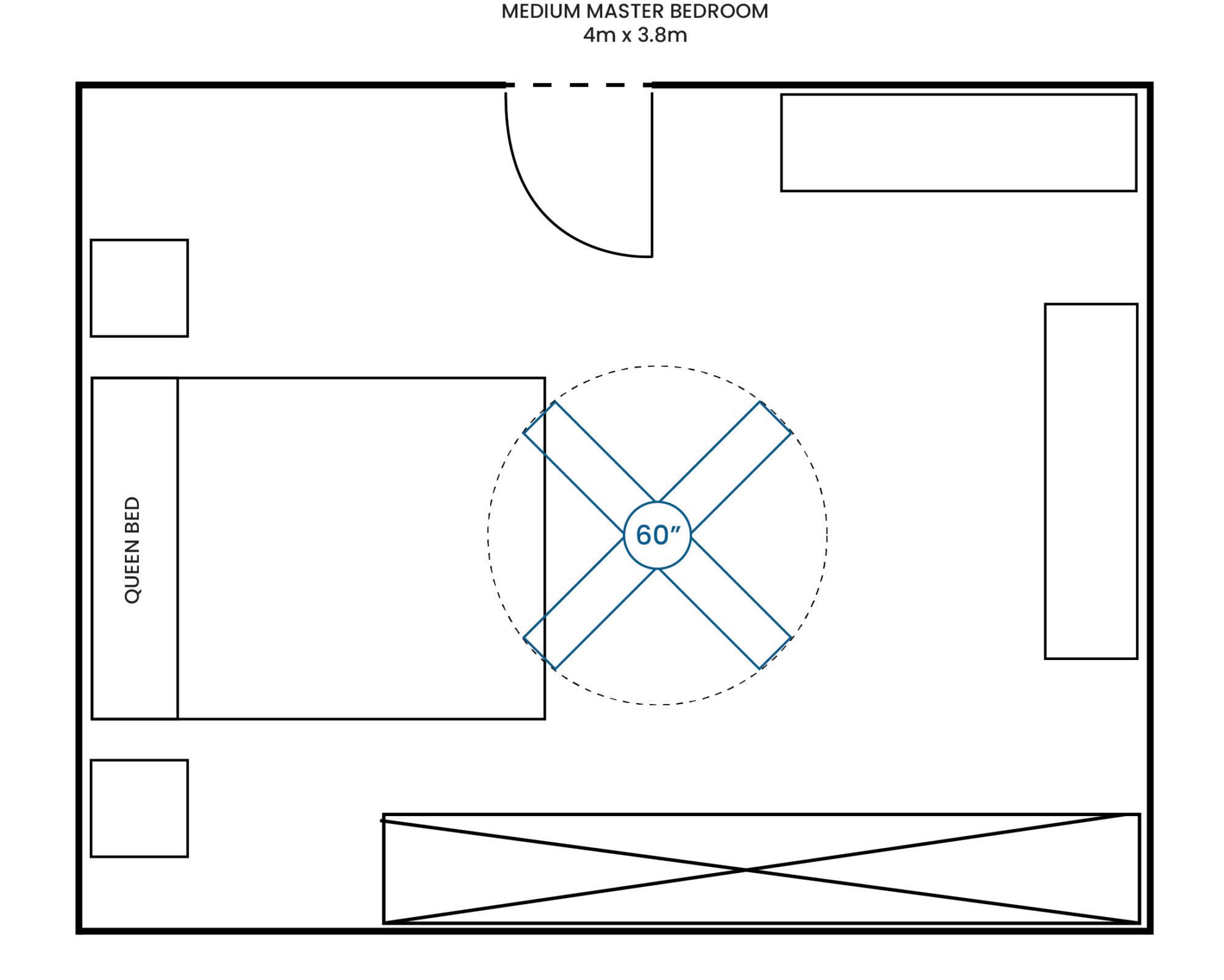 Medium Master Bedroom 400 380 60F