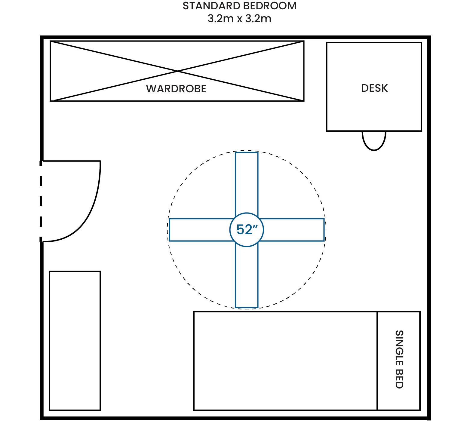 Standard Bedroom 320 320 52F