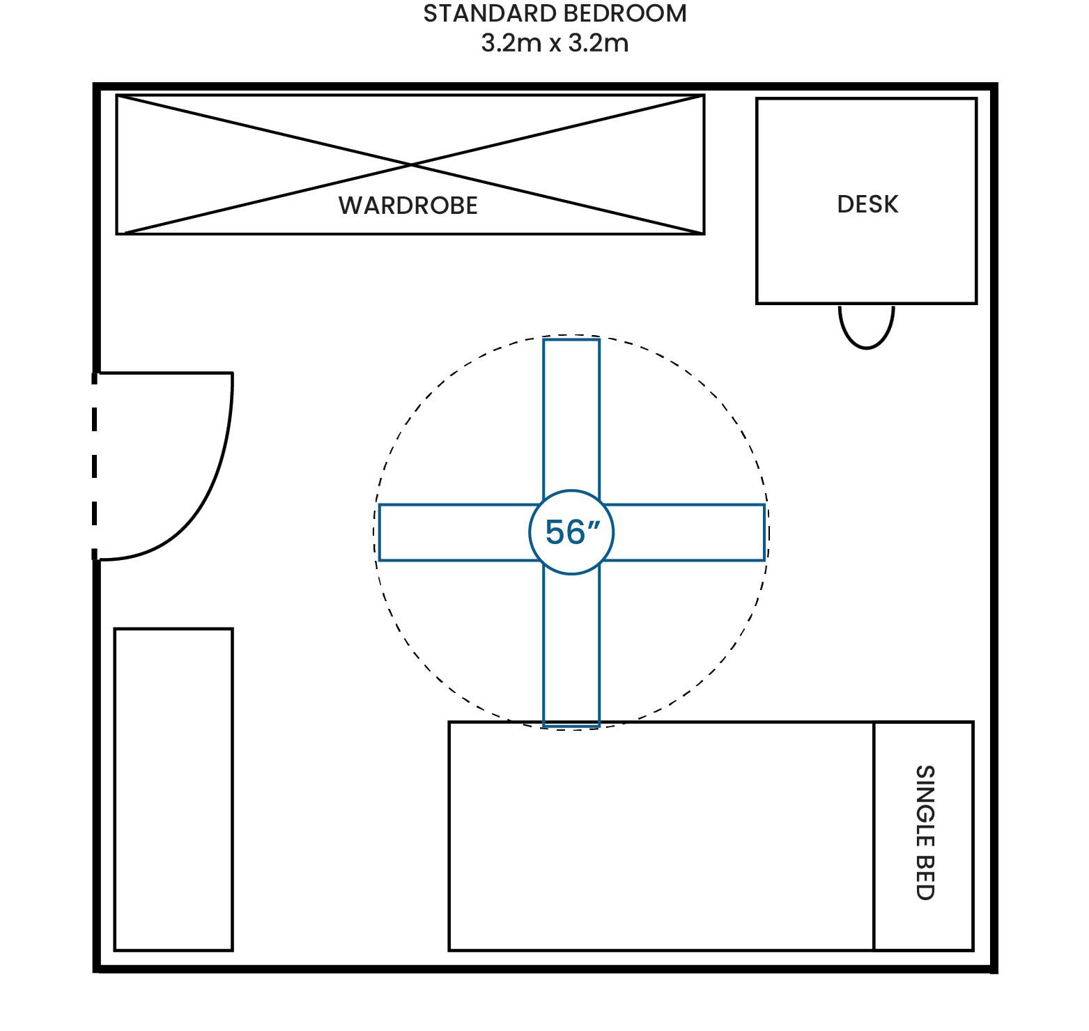 Standard Bedroom 320 320 56F