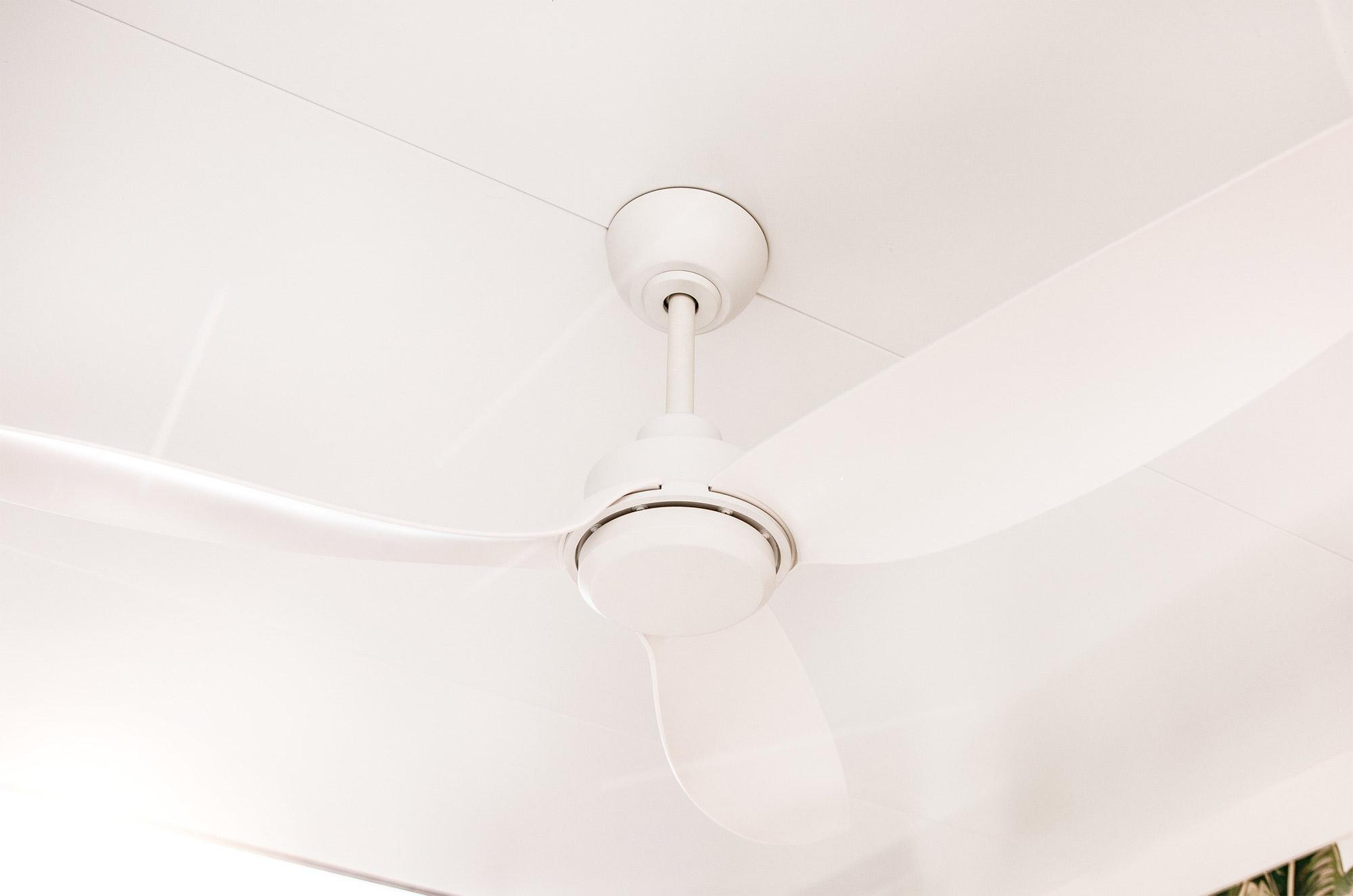 Trinity 56 Matte White Ceiling Fan 2